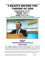4 BEASTS BEFORE THE THRONE OF GOD - Faith Assembly ...