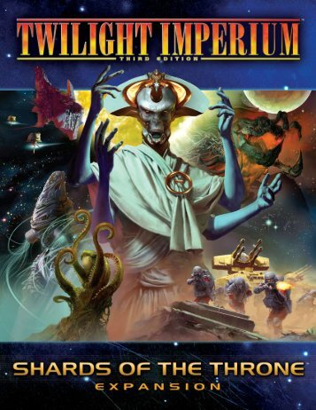 Shards of the Throne rules - Fantasy Flight Games