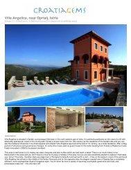 Villa Angelica, near Oprtalj, Istria - Croatia Gems