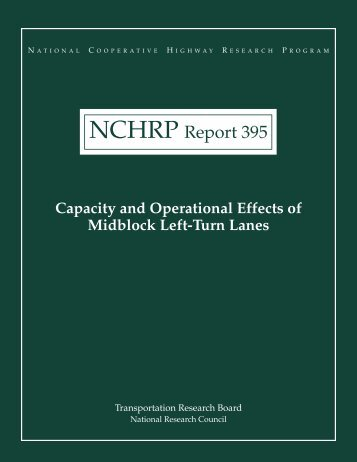 NCHRP Report 395 - Access Management