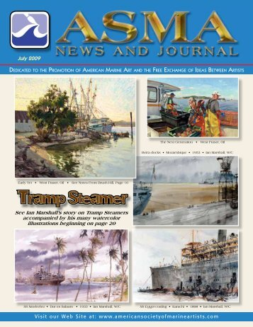 Tramp Steamer - American Society of Marine Artists