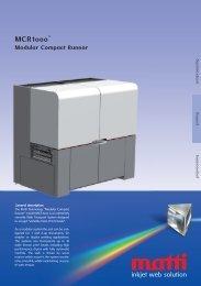 Flyer MCR1000 - Matti Technology AG