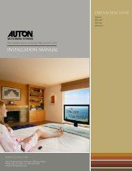 installation manual - Auton Motorized Systems