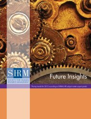 Future Insights - Society for Human Resource Management