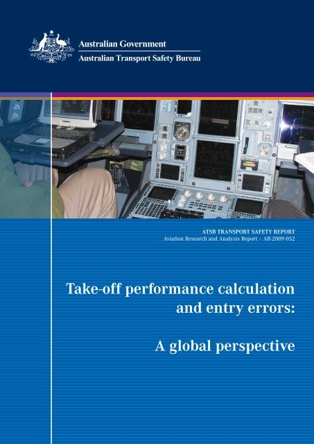 Take-off performance calculation and entry errors: A     - SKYbrary