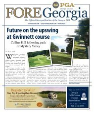 Future on the upswing at Gwinnett course - Golf FORE Georgia