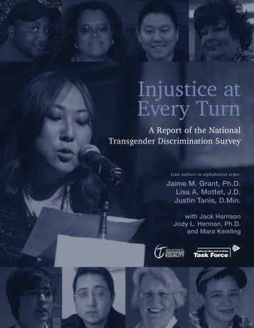 Injustice at Every Turn - National Center for Transgender Equality