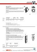 27 Magnetbeschläge 27 Magnetic armatures - Maurer Magnetic AG - Page 5