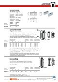 27 Magnetbeschläge 27 Magnetic armatures - Maurer Magnetic AG - Page 6