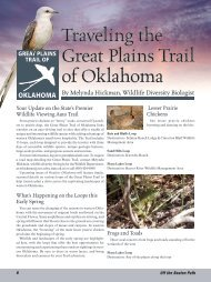 Traveling the Great Plains Trail of Oklahoma
