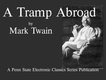 A Tramp Abroad - Penn State University