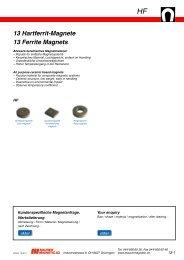 HF - Maurer Magnetic AG