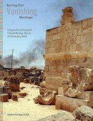 Global Heritage in Peril - Global Heritage Fund