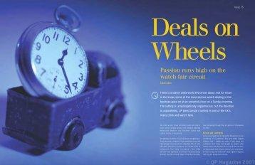 Passion runs high on the watch fair circuit - QP Magazine