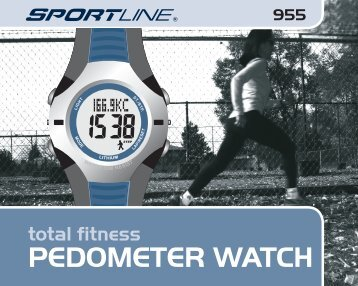 pedometer watch - Sportline