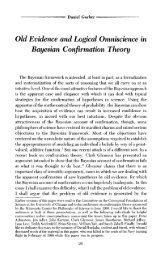 Old Evidence and Logical Omniscience in Bayesian Confirmation ...