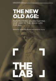 THE NEW OLD AGE: - Nesta