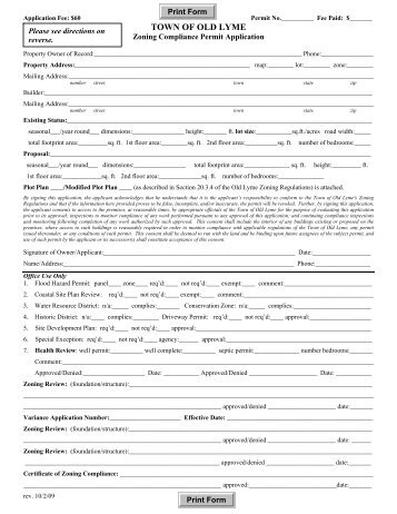 Milford Ct Building Permit Application