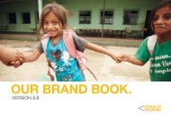 OUR BRAND BOOK. - Pencils of Promise