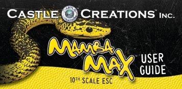 Mamba Max User Guide - Castle Creations