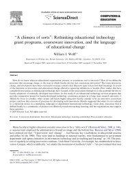 "''A chimera of sorts"": Rethinking educational technology grant ..."