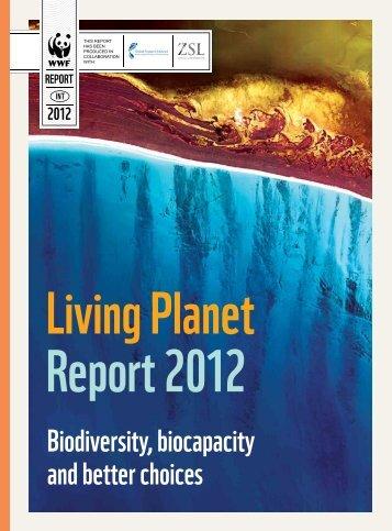 Living Planet Report 2012