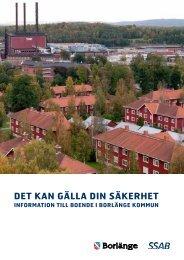 Information till boende i Borlänge kommun - SSAB