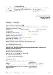 Auftragsbekanntmachung – Versorgungssektoren - U12 ... - SSB