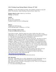1149.1 Working Group Meeting Minutes. February 16 , 2010 ...