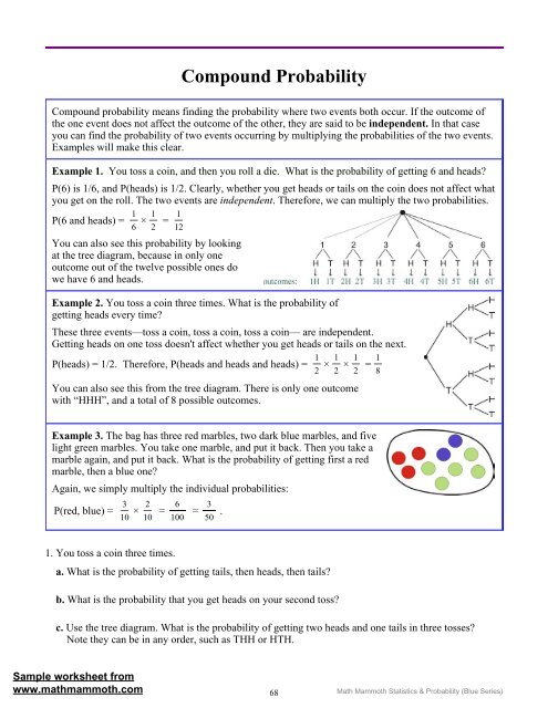 pound Probability Worksheet Conditional Doc Ma Worksheets Grade also Probability Math Grade Worksheets 9 Statistics And Of  pound also  additionally Probability   Simple and  pound Events Self Checking by The Math additionally Fillable Online  pound and Conditional Probability Worksheet Date likewise Independent Probability Worksheet Dependent Probability Math in addition pound Probability Worksheet   Siteraven additionally Probability Of Independent Events Worksheet Simple Answer Key furthermore Probability Worksheets Grade 8 Grade 8 Maths Worksheets With Answers in addition  also pound probability of independent events  video    Khan Academy furthermore pound Probability   Math Mammoth further Probability Lessons on  pound Probability as well Probability Worksheets Grade 7  pound Pdf 8th Stati besides Probability Worksheet Preview Worksheets Maths A Answer  binations besides Probability With Cards Worksheet Grade 5 Probability Worksheets Tree. on compound probability worksheet with answers