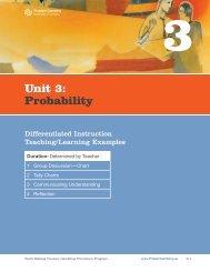 Unit 3: Probability - ProblemGambling.ca