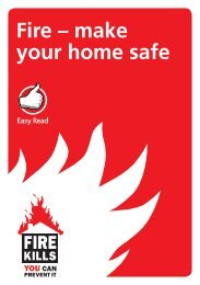 Fire – make your home safe - Gov.uk
