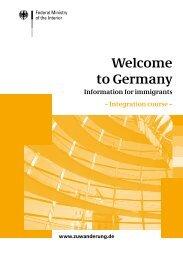 Integration course - des Bundesministerium des Innern - Bund.de