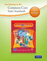 Common Core - Connected Mathematics Project