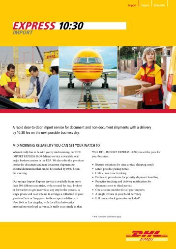 dhl usa online chat
