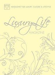 MAGAZINE FOR LUXURY, CULTURE ... - MCM DESIGNSTUDIO