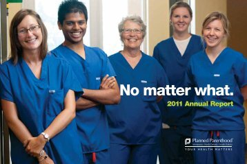No matter what. - Planned Parenthood