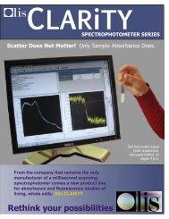 CLARiTY brochure - Olis, Inc.