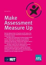 Making assessment measure up - ATL