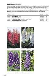 Blumenzwiebel Katalog Frühjahr 2012, Teil 3 D-G