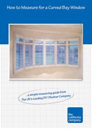 How to Measure for a Curved Bay Window - The California Blind ...