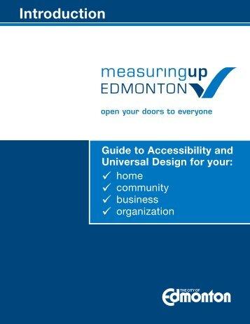 Measuring Up Edmonton - Introduction Booklet v2 - City of Edmonton