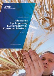 Measuring Up: Improving Sustainability in Consumer Markets - SD-M
