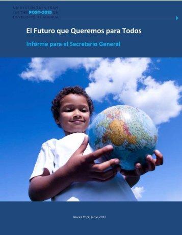El Futuro que Queremos para Todos