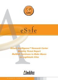 SafeWord 2008 Administration Guide - SafeNet