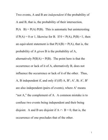 Probability Of Independent Events Worksheet Pie1 Answerspdf
