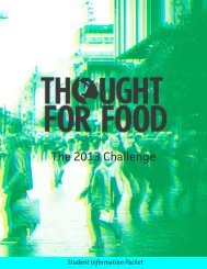 The 2013 Challenge