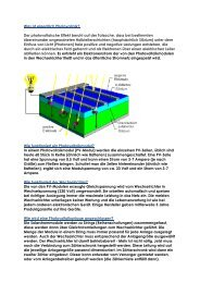 Was ist eigentlich Photovoltaik? Der photovoltaische Effekt beruht ...