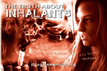 The Truth About Inhalants booklet - Drug Free World