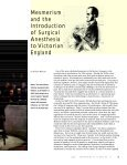 Mesmerism and the Introduction of Surgical Anesthesia to ... - iSites - Page 2